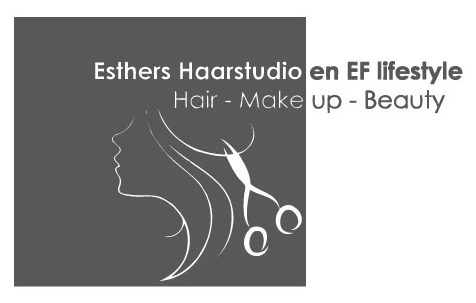 Esther's haarstudio en EF Lifestyle Logo